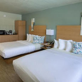 The Ponce St. Augustine Hotel Two Queen Beds Room